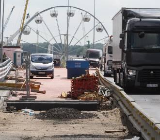 Remont Trasy Zamkowej w Szczecinie opóźniony. Sprawdzamy stan prac [ZDJĘCIA]