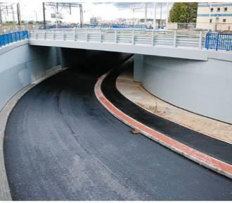 Tunel na ul. Kwiatowej już niebawem przejezdny!