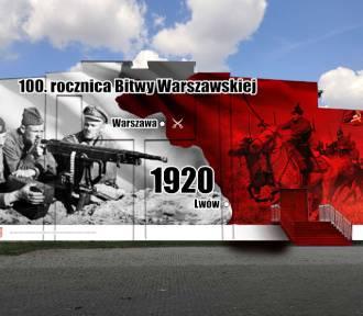 """Powstanie mural upamiętniający """"Cud nad Wisłą"""""""