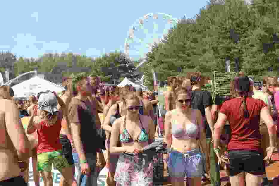 Tomatina na Przystanku Woodstock