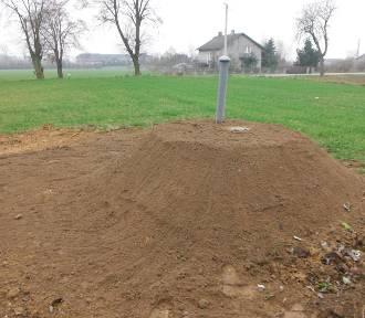 Program budowy przydomowych oczyszczalni w gminie Błaszki na półmetku (zdjęcia)