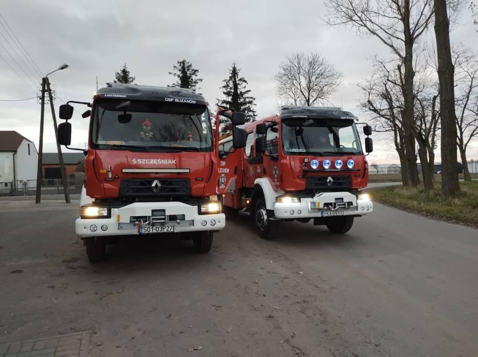 OSP Blizanów ma wreszcie nowy samochód ratowniczo-gaśniczy
