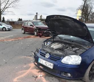 Wypadek w Trumiejach. Ranna jedna osoba [ZDJĘCIA]