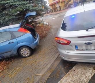 Zgorzelec: Tak uciekał przed policjantami, że zatrzymał się na drzewie