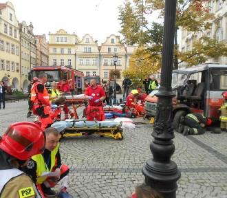 Ponad stu funkcjonariuszy wzięło udział w akcji ratunkowej! Zobacz zdjęcia! Zobacz film!