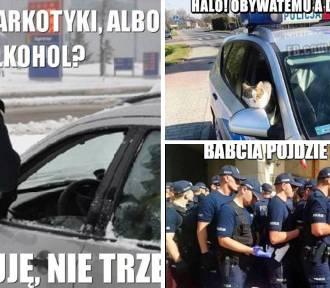 Najlepsze MEMY o Policji z okazji Dnia Policjanta 2021