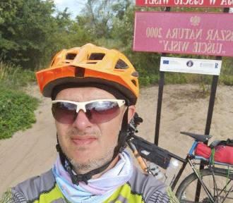 To człowiek z żelaza. Przejachał rowerem od źródeł do ujścia Wisły - 1200 kilometów - ZDJĘCIA