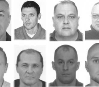 Znasz te twarze? To poszukiwani za kierowanie grupą przestępczą