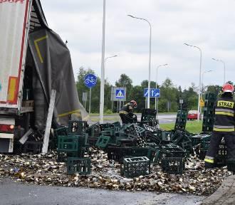 Tysiące roztrzaskanych butelek. Co było przyczyną ogromnych strat?