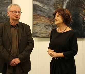 W sieradzkim BWA otwarto wystawę malarstwa i rysunku Konrada Knorowskiego (ZDJĘCIA)