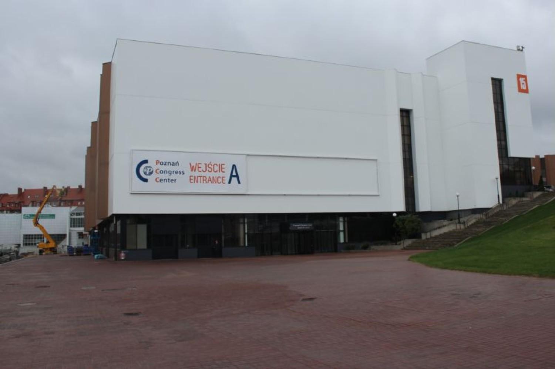 Centrum konferencyjno-kongresowe w Poznaniu po przebudowie