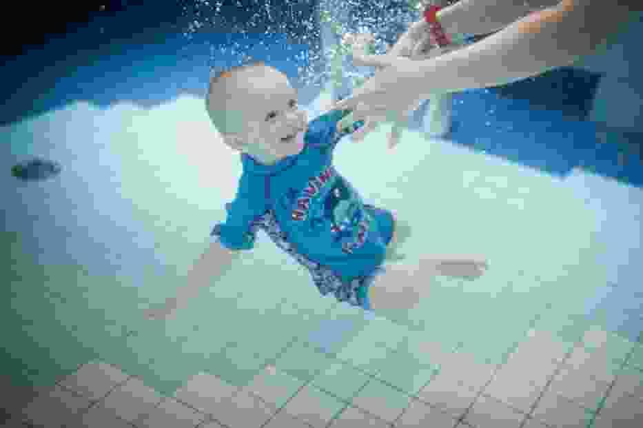 Zajęcia aqua baby w kaliskim parku wodnym