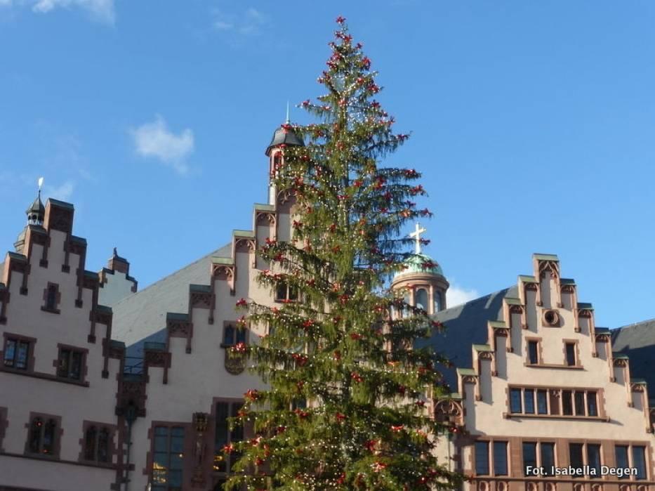 Frankfurcki jarmark świąteczny jest jednym z najstarszych w Niemczech, z tradycją sięgającą roku 1393