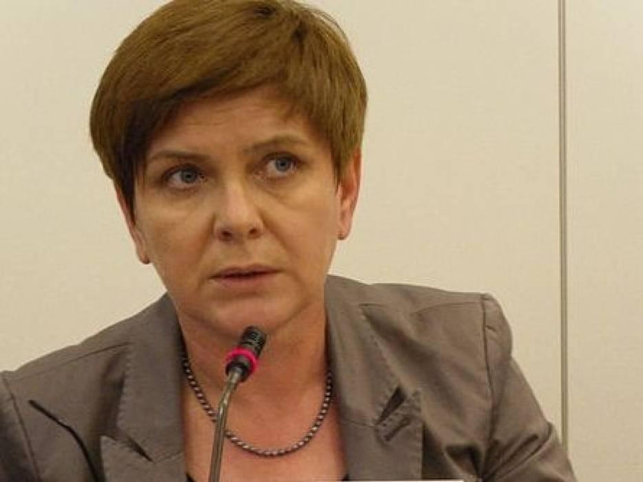 Beata Szydło - wiceprzewodnicząca PiS