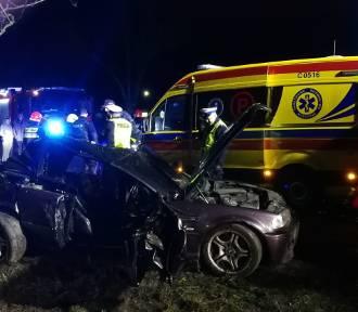 Tragiczny wypadek w regionie. Nie żyje kierowca samochodu marki BMW