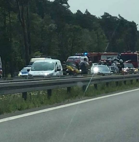 Pięć osób rannych w wypadku na S3 koło Goleniowa [ZDJĘCIA]