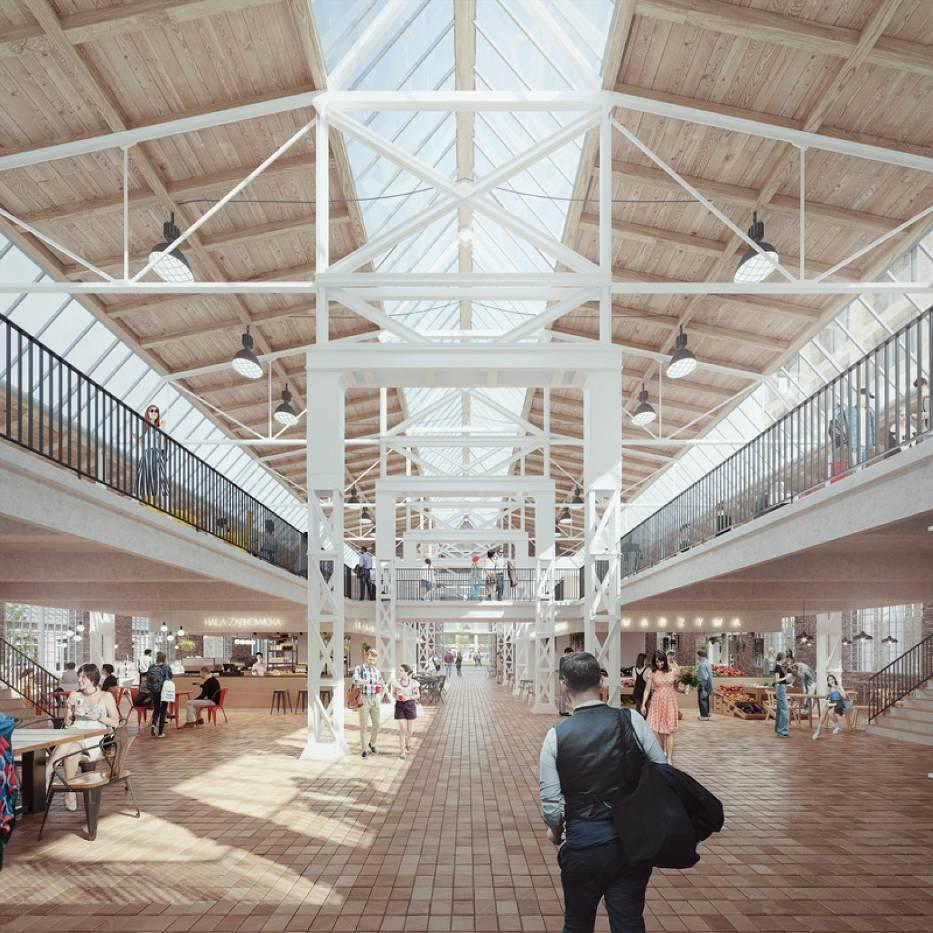 Tak ma wyglądać nowe śródmieście, a na razie gotowe jest nowe centrum multimedialne, które powstało w dawnym budynku warsztatowym