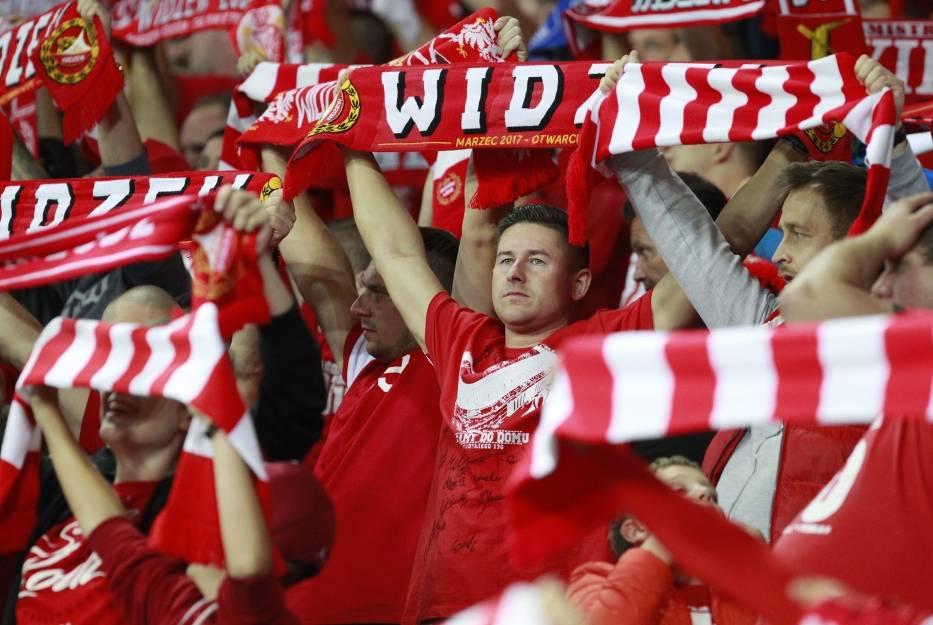 Kibice Widzewa Łódź chcą być w siódmym niebie