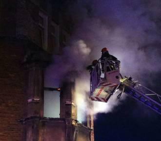 Wrocław. Mama zginęła w pożarze, dzieci zdążyły uciec [ZDJĘCIA Z AKCJI]