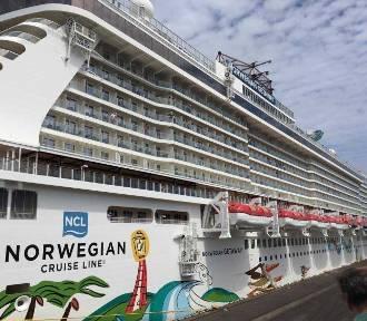Norwegian Getaway wpłynął do portu [ZDJĘCIA, WIDEO]