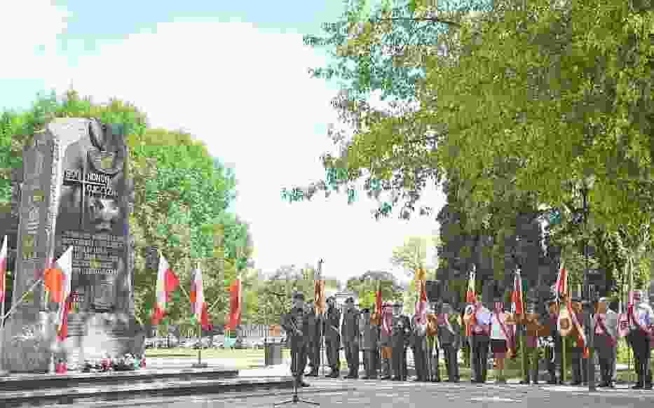 Pomnik poświęcony żołnierzom AK Okręg Zamość