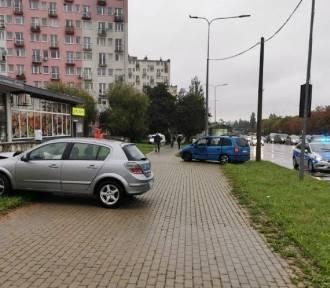 Poranny wypadek na wysokości szpitala w Kielcach. Kierowca pijany!