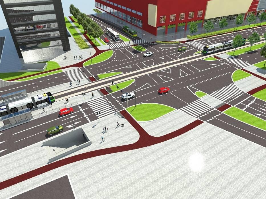 Jeszcze w tym roku pojawią się zmiany w rejonie skrzyżowania ulic Wyzwolenia, Rayskiego i Malczewskiego