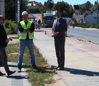 Starosta i dyrektor WZDW rozmawiali o drodze wojewódzkiej nr 305
