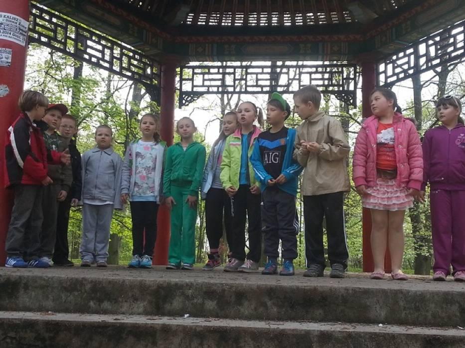 Szkoła Podstawowa nr 11 w Kaliszu uczciła rocznice urodzin swojego patrona