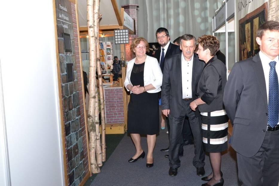 Prezydent Zabrza wizytuje stoiska