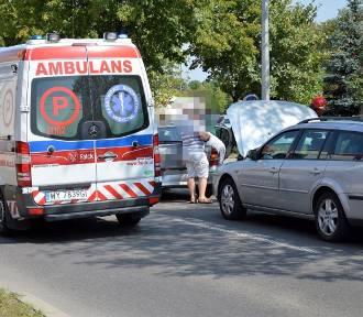 Sławno: Zderzenie czterech samochodów na ul. Armii Krajowej [ZDJĘCIA] - aktualizacja, nowe informacje