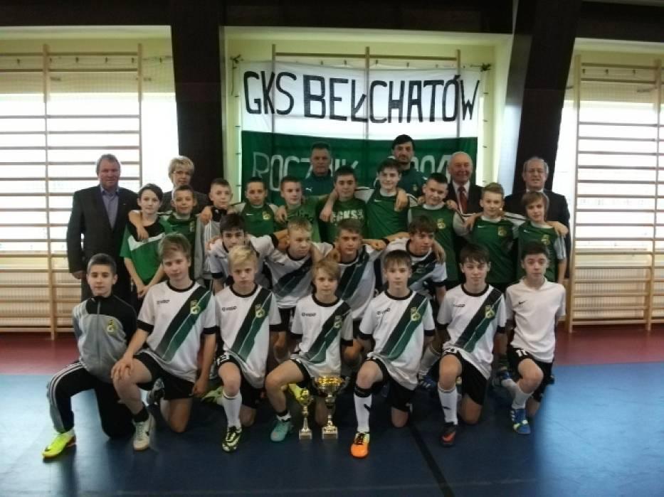 GKS Bełchatów wygrywa w Moszczenicy
