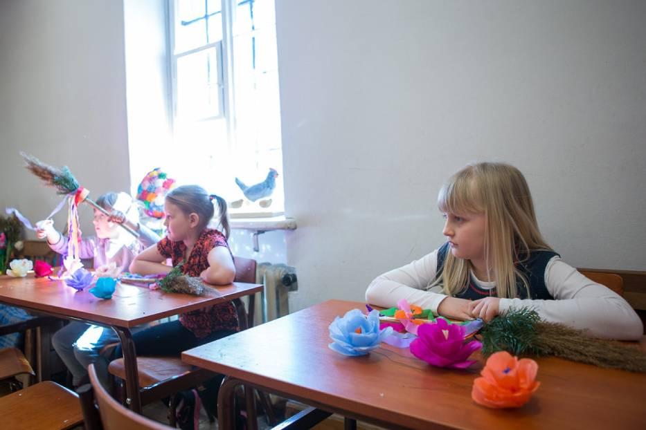 Tarnów Dzieci Uczyły Się Jak Zdobić Palmy Zdjęcia Naszemiastopl