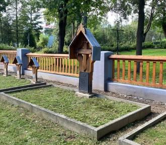 Za kilka tysięcy złotych w Warzycach odnowiono nekropolię  [ZDJĘCIA]