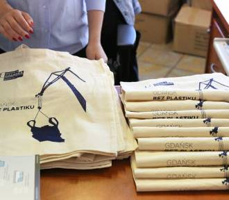 Darmowe bawełniane torby dla mieszkańców Gdańska