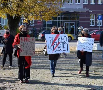 Kobiety protestowały w Sokółce. Dla nich aborcja to sprawa wyboru, a nie nakazów