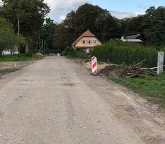 Trwa przebudowa drogi gminnej w Niemicy [ZDJĘCIA]