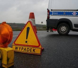PILNE Wypadek w Goczałkowicach-Zdroju. Ranni motocyklista i pasażerka