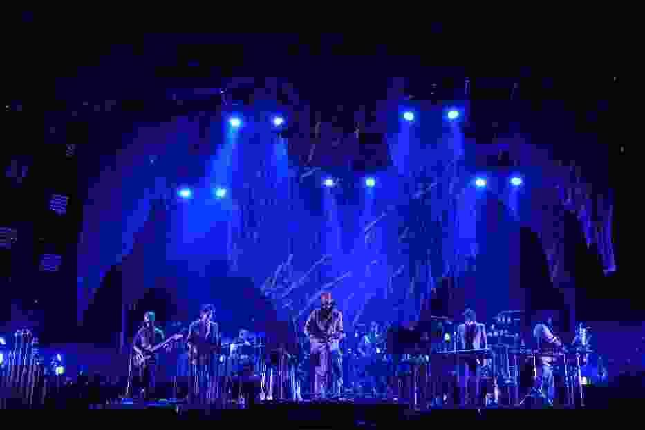 Bon Iver w czasie koncertu na Open'erze