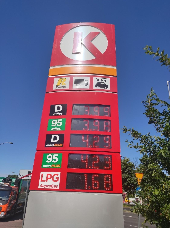 Ceny paliw w Zielonej Górze