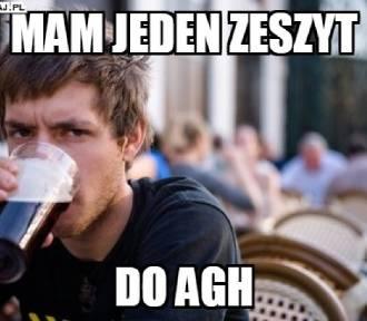 Najlepsze memy o krakowskich uczelniach