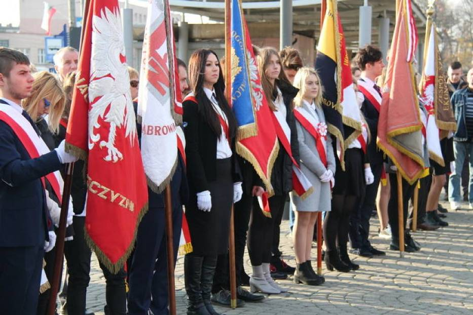 Tak wyglądały obchody Święta Niepodległości w Dąbrowie Górniczej w 2018 roku