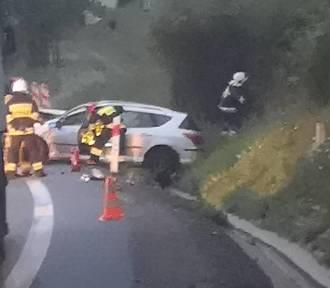 Śmiertelny wypadek w Szczytnej. Kierowca ciężarówki jechał na cudzej karcie