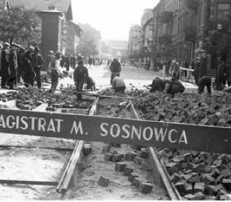 Tak przed wojną układano tory w Sosnowcu [STARE ZDJĘCIA]