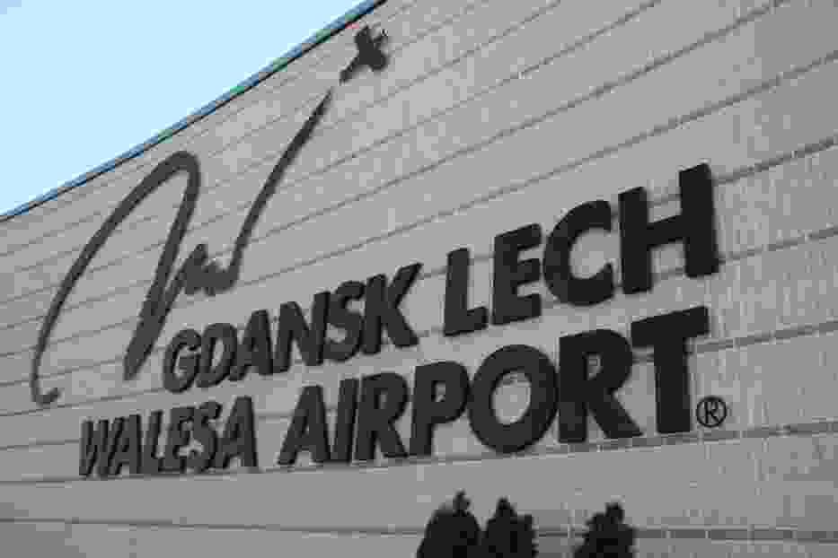 Logo lotniska w Gdańsku Rębiechowie