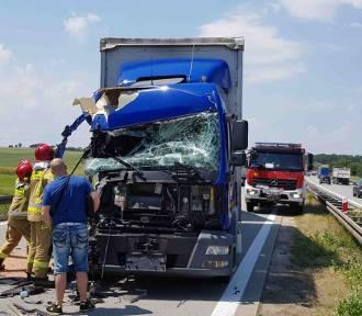 Groźny wypadek na A4! Droga zablokowana [ZDJĘCIA]
