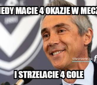 Memy po zaciętym meczu Polska - Albania
