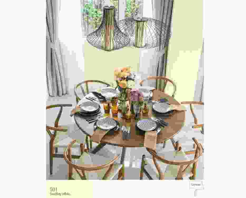 Słoneczne kolory ścian w jadalni - najlepsze inspiracje
