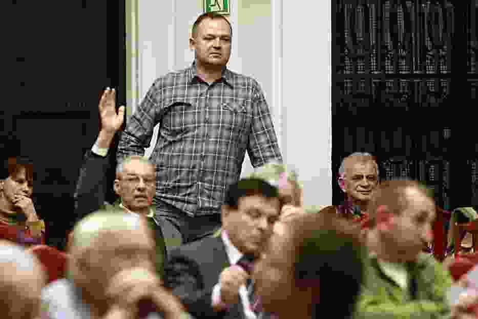 Hanna Zdanowska, prezydent Łodzi powiedziała na wstępie, że kwoty opłat za odbiór odpadów są orientacyjne