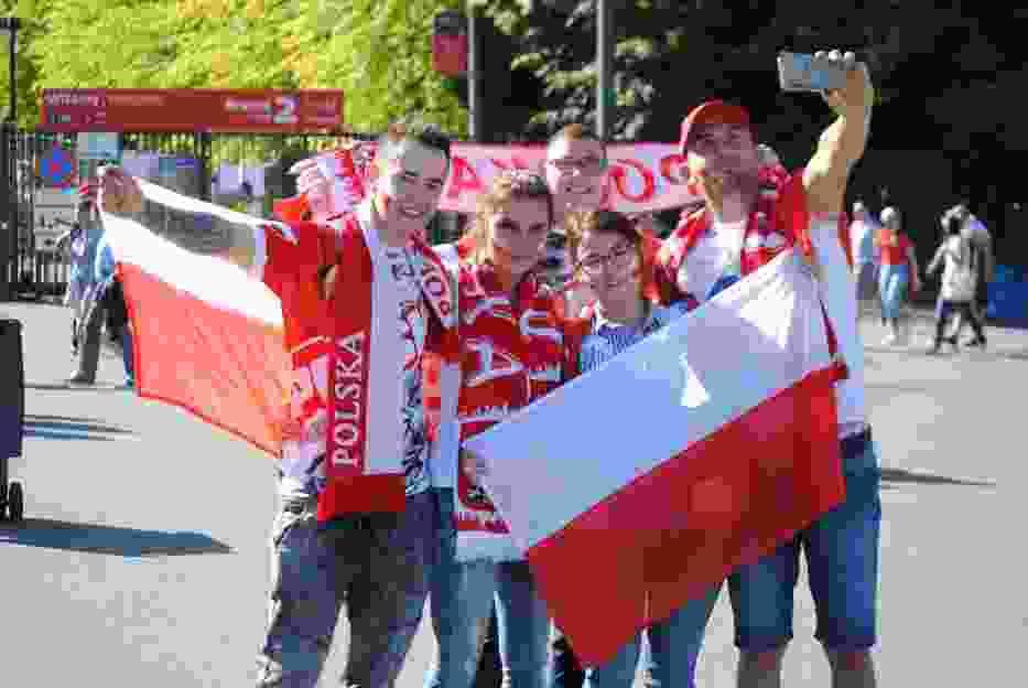 Kibice na Grand Prix Polski w Warszawie. Tłumy na Narodowym [ZDJĘCIA KIBICÓW]